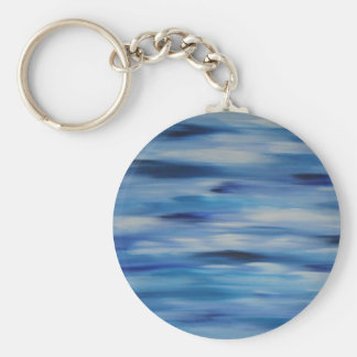 Evitavic paintings collection Blue Sky Keychain