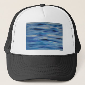 Evitavic paintings collection Blue Sky Trucker Hat