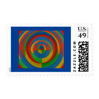 Evitavic paintings collection eyecatching abstract stamp