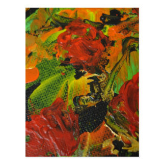 Evitavic paintings collection Red Roses Postcard