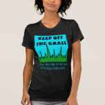 Evite la hierba camisetas