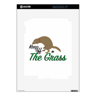 Evite la hierba skins para eliPad 2