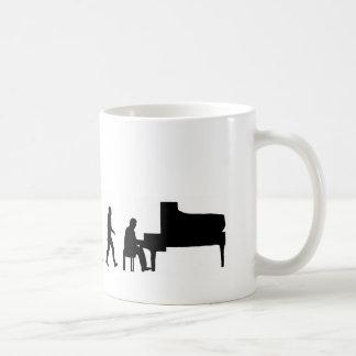 EVO05 evolution piano Classic White Coffee Mug
