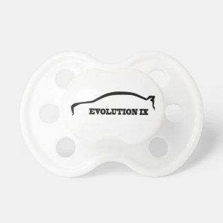 EVO 9 Black Brushstroke Pacifier