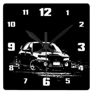 EVO 9 SQUARE WALL CLOCK