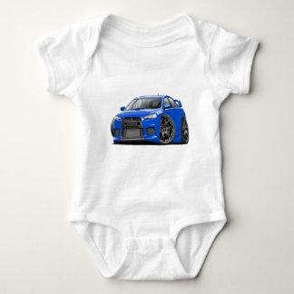 Evo Blue Car Baby Bodysuit