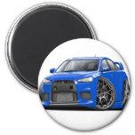Evo Blue Car Fridge Magnet
