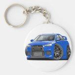Evo Blue Car Key Chains