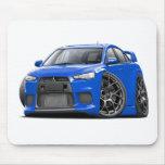 Evo Blue Car Mousepad