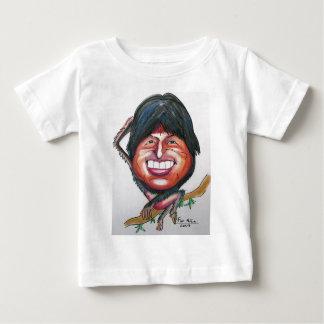 evo morales infant t-shirt