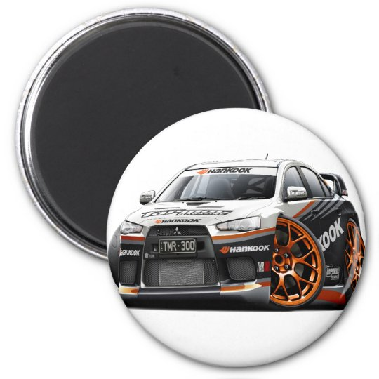 Evo Race Car Magnet