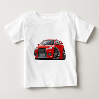 Evo Red Car Baby T-Shirt