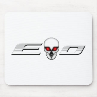 Evo with Skull Mouse Pad