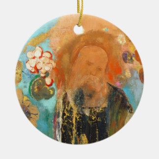 Evocation of Roussel, c. 1912 (oil on canvas) Ceramic Ornament