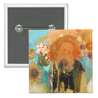 Evocation of Roussel, c. 1912 (oil on canvas) Pinback Button