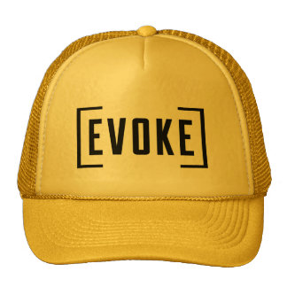[EVOKE] Graphic Trucker Hat