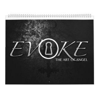 Evoke, the art of angel illustrations calendar