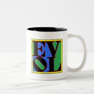 evol Two-Tone coffee mug