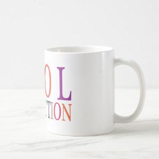EVOL REVOLUTION CLASSIC WHITE COFFEE MUG