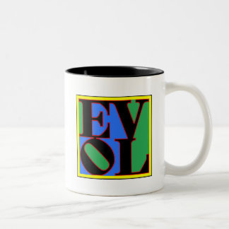 evol Two-Tone coffee mug