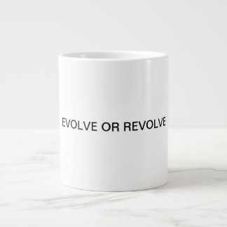 EVOLE OR REVOLVE GIANT COFFEE MUG