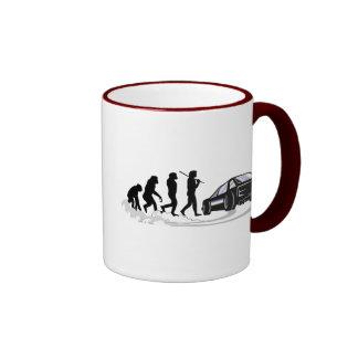 Evoloution Ringer Coffee Mug