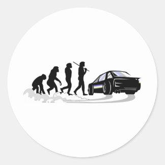 Evoloution Classic Round Sticker