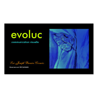 evoluc bussness card business card