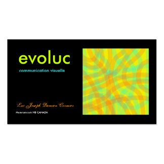 evoluc bussness card - Customized Business Cards