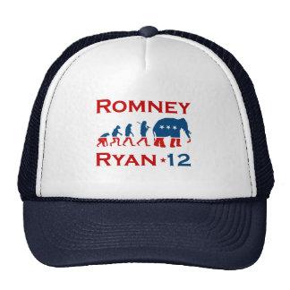 EVOLUCIÓN 2012 de ROMNEY RYAN GOP.png Gorra
