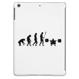 evolución agazapada funda para iPad air