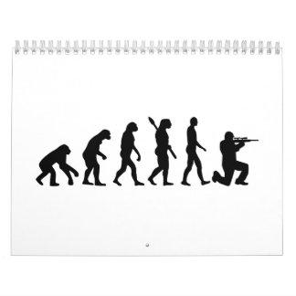 Evolución Airsoft Calendarios De Pared