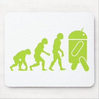 Evolución androide tapetes de raton