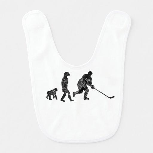 Evolución apenada del hockey babero para bebé