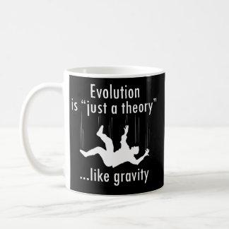 Evolución apenas una teoría tazas