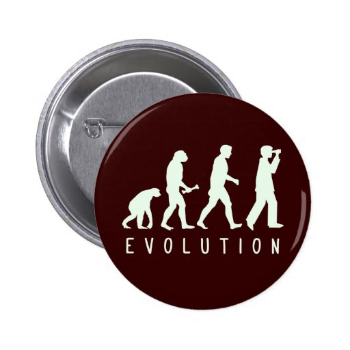 Evolución: Birder Pin Redondo De 2 Pulgadas