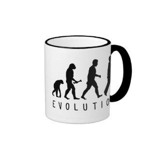 Evolución Birder Taza De Café
