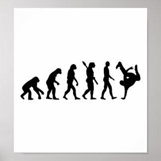 Evolución Breakdance Póster