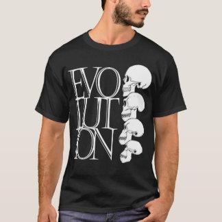 Evolución (camisa oscura) playera