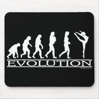 Evolución - danza alfombrillas de ratones