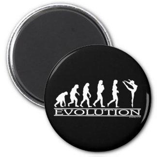 Evolución - danza iman para frigorífico
