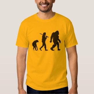 Evolución de Bigfoot Remera