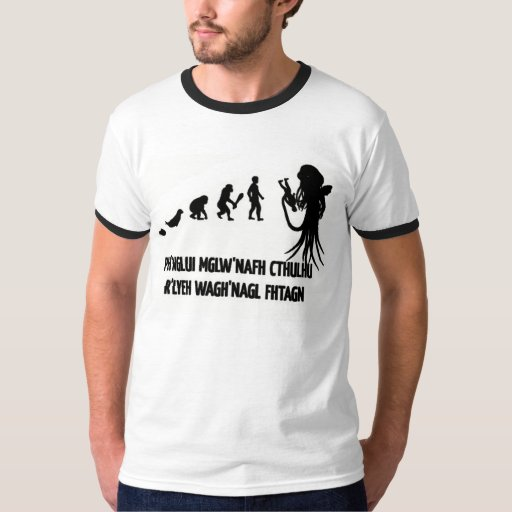 Evolución de Cthulhu Camisas