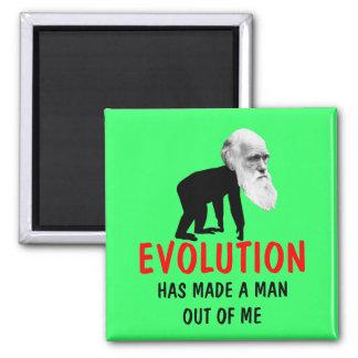 Evolución de Darwin Imán Para Frigorifico
