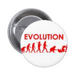 Evolución de Jiu Jitsu Pin Redondo De 2 Pulgadas