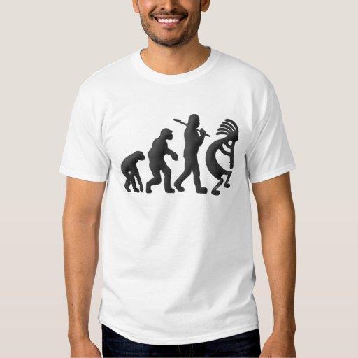 Evolución de Kokopelli Camisas