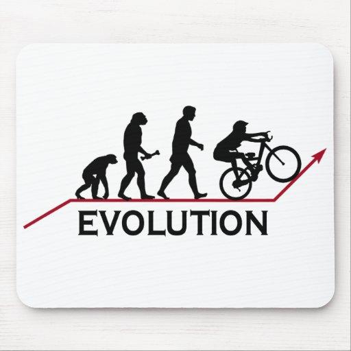 Evolución de la bici de montaña tapetes de raton
