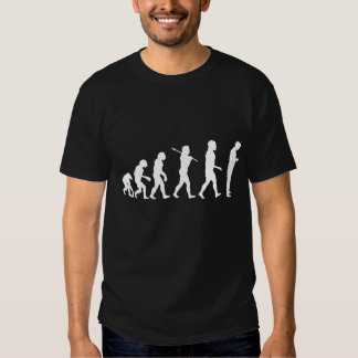 Evolución de la camiseta de la oscuridad de playera