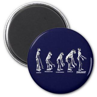 Evolución de la ciencia del naturalista de la zool imán redondo 5 cm