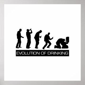 Evolución de la consumición poster